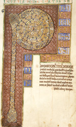 Decorated First Letter, in Life of St Thomas Becket